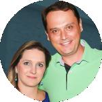 Iala Schoemberger e Marcio Osni